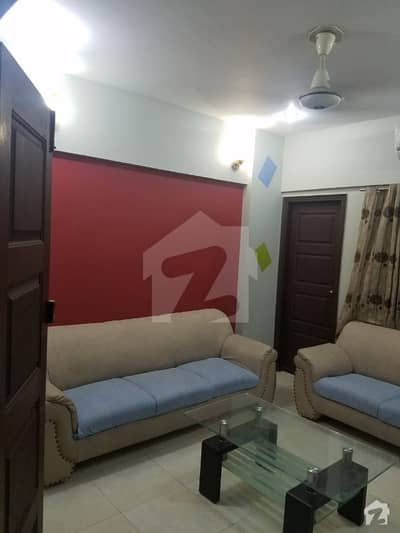 Apartment For Sale 2 Bedrooms Drawing Dining 1000 Squire Feet Fully Furnished All Ready Rented 50000 Rent Income In Bukhari Commercial Dha Phase Vi Karachi