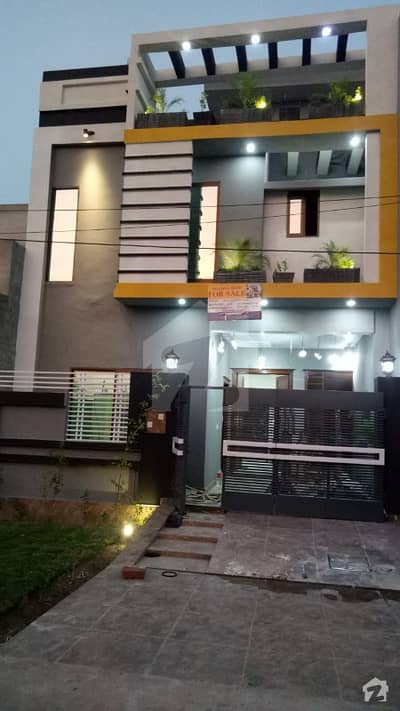 5 Marla Double Unit Brand New House For Sale Formanites Housing Society