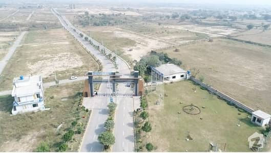 Block C 5Marla Residential Plot Available For Sale University Town Islamabad