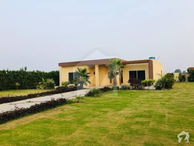 4 Kanal Farm House Is Available For Sale In Barki Road