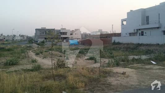 Back Of 120 Ft Road  Beautiful Location 20 Marla Plot D Block  For Sale In Dha Phase 6