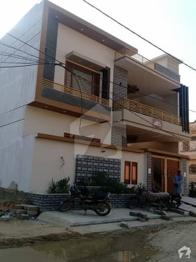 260 Sq Yards Corner West Open Brand New Double Storey Ultra Luxury Modern Bungalow In VIP Block 12 Johar