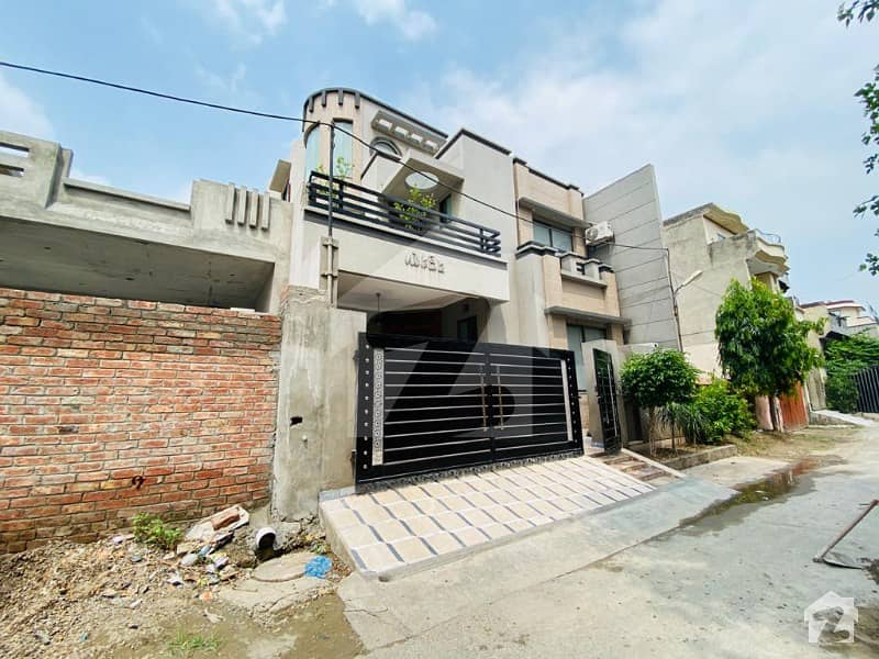 Mian Farooq Estate Offer 10 Marla Half Triple Story With Basement VIP Beautiful House For Sale In Amir Town Harbans Pura Lhr