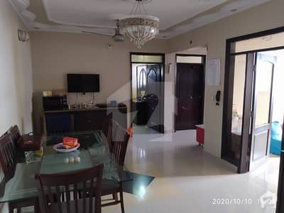 1100  Square Feet Flat Is Available In Khudadad Colony