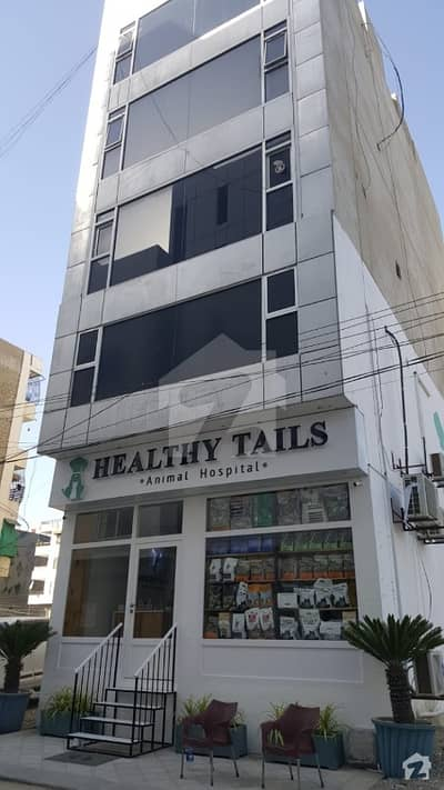 100 Sq Yard Ground Basement  1st Floor Available In Bukhari Commercial Phase 6 Dha Karachi
