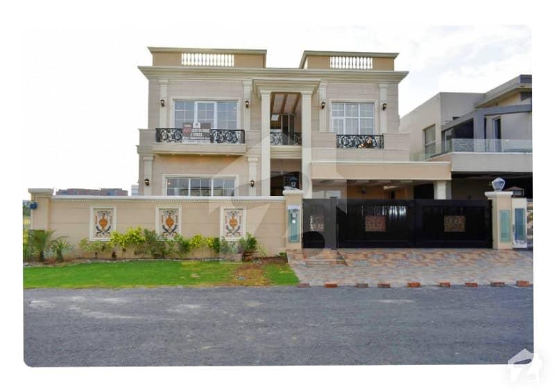 1 Kanal Brand New Faisal Rasul Design Modern Bungalow For Sale Outclass Location