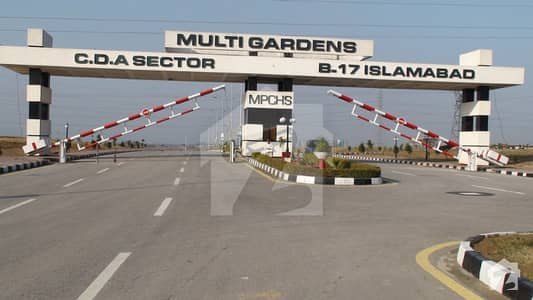 35x70 Main Double Road Back Plot For Sale In 400 Series Block C