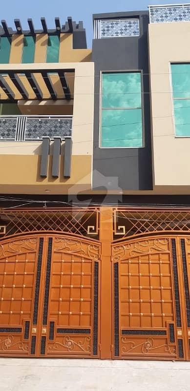 حیات آباد فیز 1 حیات آباد پشاور میں 9 کمروں کا 5 مرلہ مکان 2.55 کروڑ میں برائے فروخت۔