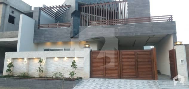 10 Marla Brand New Luxury House Available For Sale In Canal Garden Canal Road Faisalabad