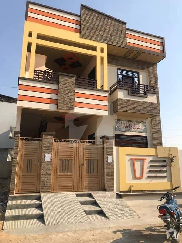 200 Sq Yard Brand New House For Sale