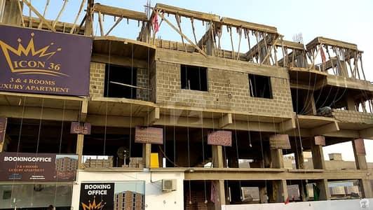 گلستانِِ جوہر ۔ بلاک 11 گلستانِ جوہر کراچی میں 2 کمروں کا 3 مرلہ فلیٹ 75 لاکھ میں برائے فروخت۔