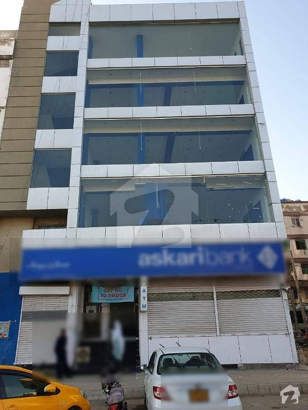 200 Yards Office Building Main Khayaban e Badar Available For Sale In DHA Phase 5