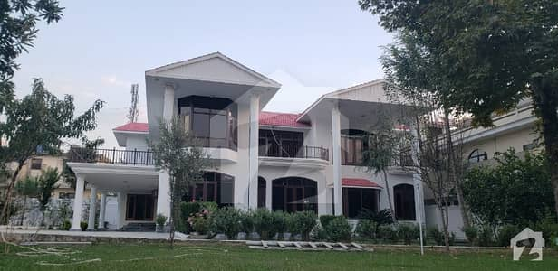 5 Kanal Huge House With Lawn And Big Parking  For Rent Available