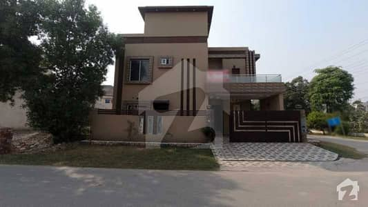 10 Marla Brand New Corner House For Sale In A Block Of Canal Garden Lahore