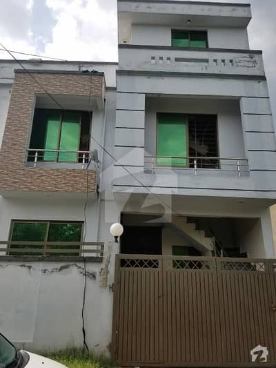 25×40 Corner Triple Storey Open Face New Construction House For  Sale