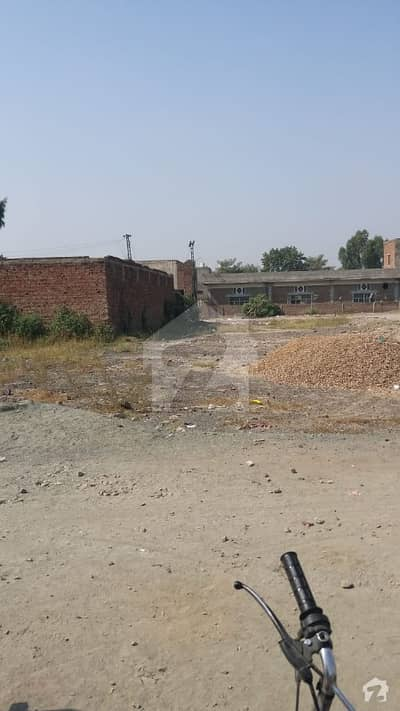 10 Kanal Commercial Plot For Sale Adjacent To Masjid Ibrahim At Gajju Matah Ferozpur Road Lahore