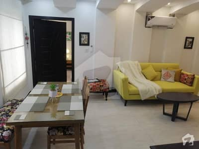 Single Bed Vip Furnished Flat For Rent In AA Block Bahria Town Lahore