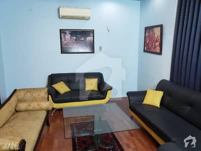 Furnished 1 Kanal Lower Portion With 3 Bed Attach Bath Drawing Tv Launch Kitchen Store Car Parking