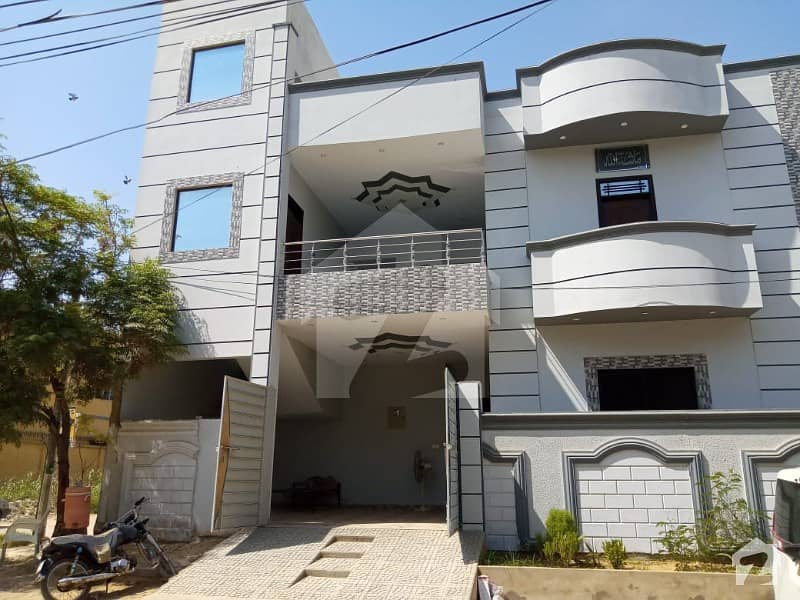 Brand New Corner House For Sale In Gulistan-e-Jauhar - Block 12