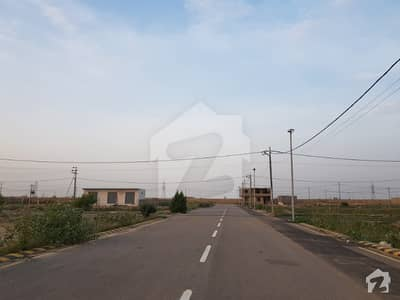 West Open Corner 134 Square Yards Residential Plot Is Available For Sale