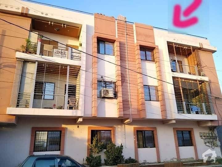 گلستانِ جوہر کراچی میں 2 کمروں کا 6 مرلہ پینٹ ہاؤس 95 لاکھ میں برائے فروخت۔