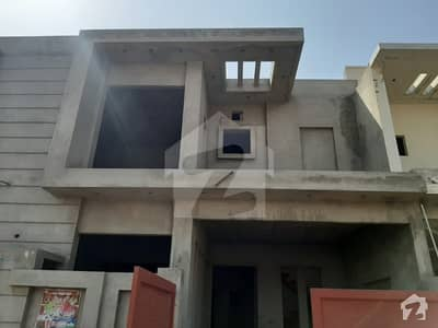 Gray Structure House 5 Marla Only 60 Lac