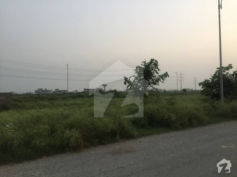 Beautiful 8 Marla Commercial Plot At Cca2 Phase 6 Dha Lahore
