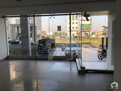 4 Marla Commercial Ground Floor And Basement Available For Rent In Dha Phase 6 Block L