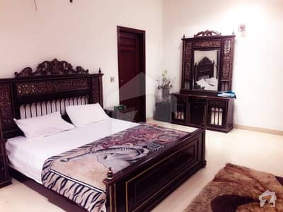 Fully Furnished Beautiful Design 1 Kanal Bungalow For Rent At Prime Location