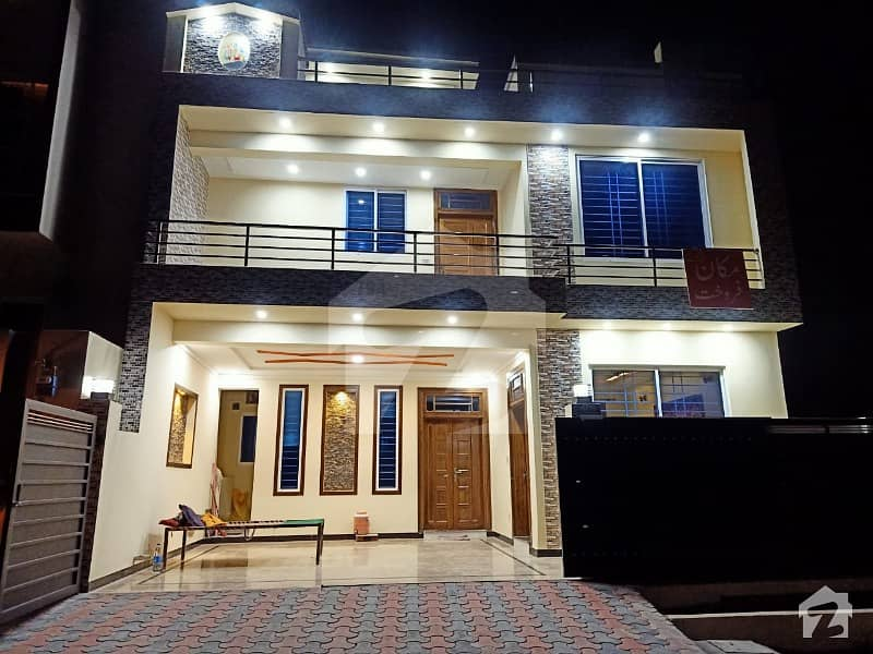 8 Marla New House In Cbr Town Islamabad Type