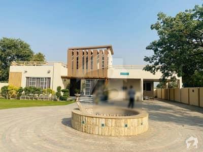 بیدیاں روڈ لاہور میں 3 کمروں کا 4 کنال فارم ہاؤس 5 کروڑ میں برائے فروخت۔