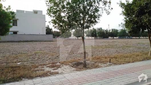 Main Boulevard 10 Marla Plot For Sale In Nishtar Block Bahria Town Lahore