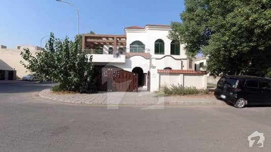 10.75 Marla Corner House For Sale In Gulbahar Block Of Bahria Town Lahore