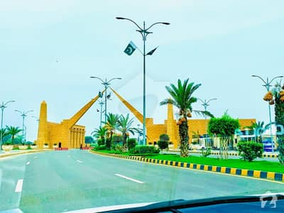 3 Marla Residential Plot For Sale On Easy Installments For 5 Years In Alnoor Orchard
