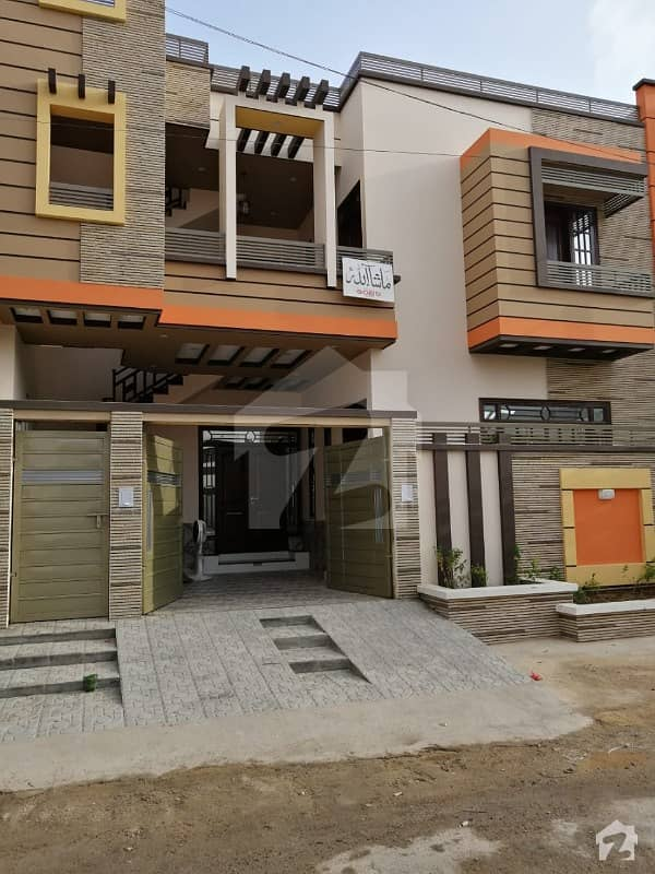 Beautiful 240 Yards Double Storey House For Sale At Block 3 Saadi Town