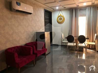 1 Flat Bed Furnished Apartment For Rent In Bahria Town Lahore