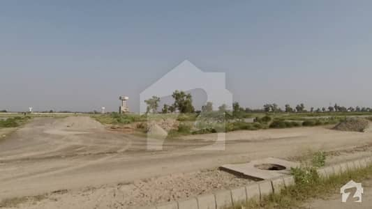 Offer Corner Plot 643 On Superb Location Near To Playground And Back Of 80 Feet Road