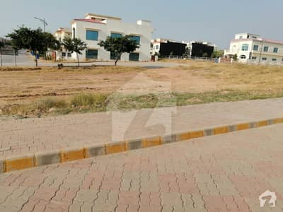 8 Marla Commercial Plot For Sale In Sector C1, Main Avenue Bahria Enclave Islamabad