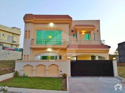 Beautiful Park Face Brand New House For Sale Bahria Town Phase 8 Khalid Block