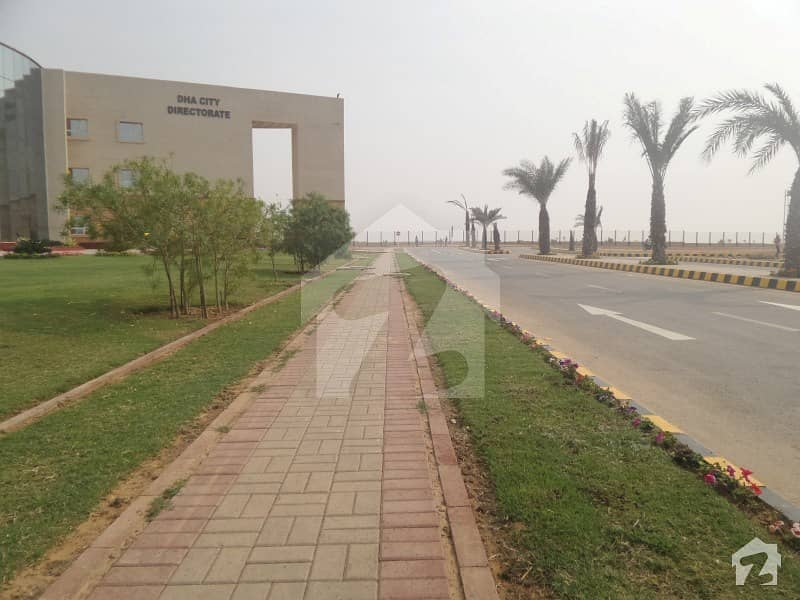 Sector 10- D 500 Yards Plot Is Available For Sale In Dha City Karachi