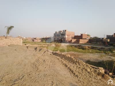3 Marla Residential Plot Is Available In Rana Town