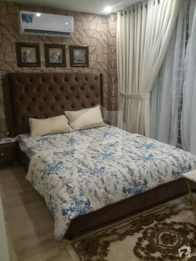 Rizco Heights Offering Fully Furnished Luxury Studio Apartment At One Of The Most Posh Area Of Bahria Town Lahore
