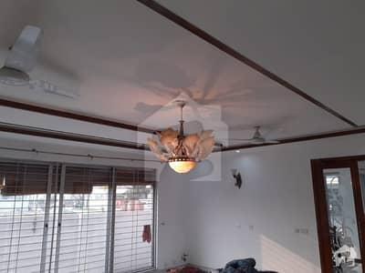 Near Park One Kanal Basement Bungalow For Rent At Prime Location