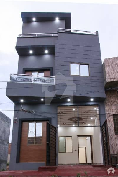 4 Marla Brand New Double Storey House For Sale