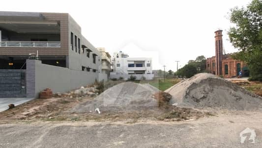 Best Location For Built Home And Builders Near Park Mosque Market Plot For Sale