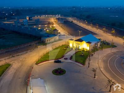 5 Marla Plot Is Available For Sale In Al Noor Orchard West Marina Overseas Lahore