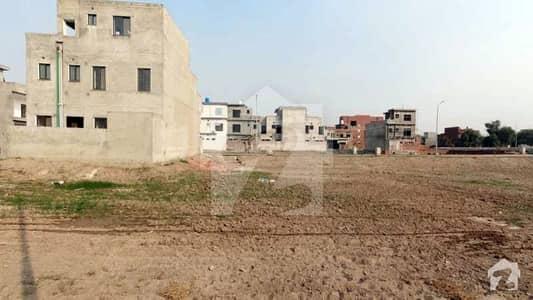 6 Marla Corner Residential Plot For Sale In Tulip Overseas Of Park View Villas Lahore