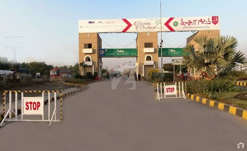 5 Marla Residential Plot Up For Sale In Lahore Motorway City T BLOCK