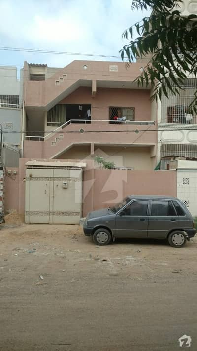 Main Road House Double Storey For Sale In North Karachi