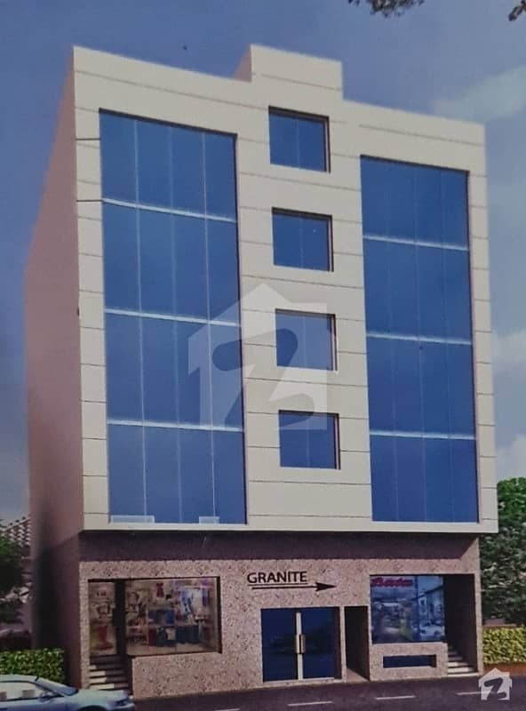 200 Sq Yards Under Construction Building For Booking